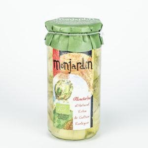 Alcachofa al natural extra de cultivo ecológico